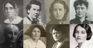 Aufbruch der Frauen.8.Portraits