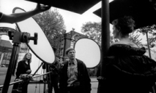 Sally Potter mit Kameramann Alexei Rodionov und Joan Allen