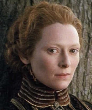 "Tilda Swinton in ""Orlando"""