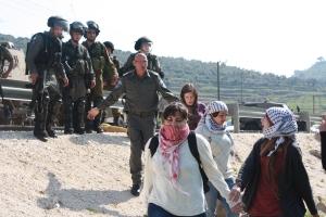Nabi Saleh, Westjordanland: Demonstration 2014