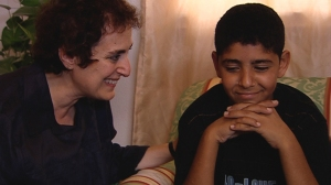 Viveca Hazboun, Jugendpsychiaterin und Ahmad aus Bethlehem